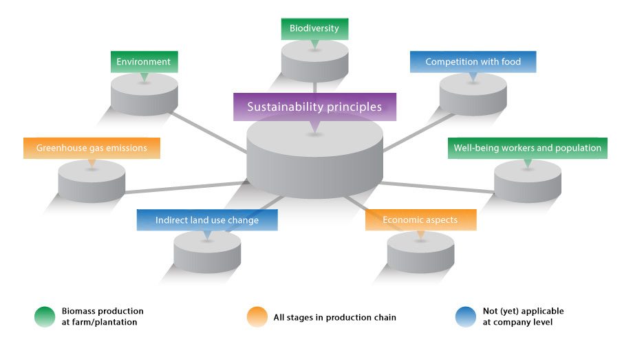 Sustainability principles